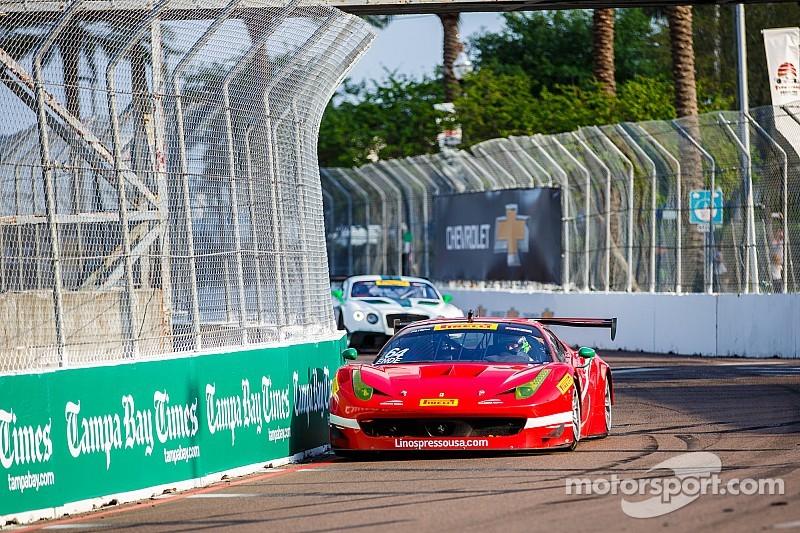 Scuderia Corsa Ferraris survive first Pirelli World Challenge street circuit of the year