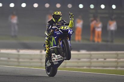 Rossi rules stunning season opener in Qatar