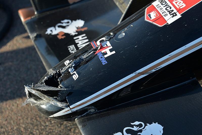 Espectadora sufrió lesiones en la cabeza en IndyCar