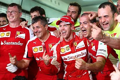 """Vettel - """"Je fais maintenant partie de Ferrari"""""""
