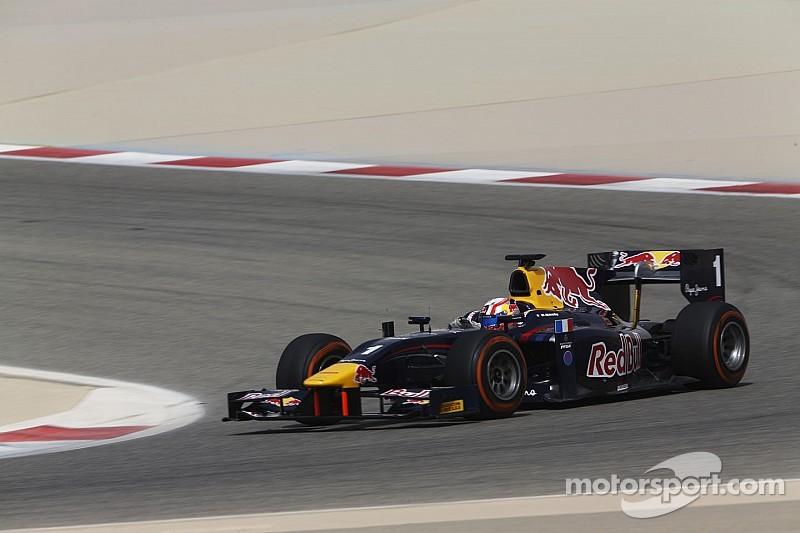 Gasly termina al frente en los ensayos de GP2 en Bahrein
