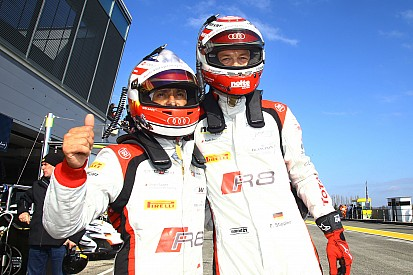 Audi beats BMW to Blancpain Sprint opener pole