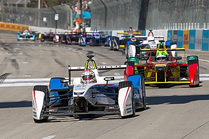 Andretti Formula-E Team's third trophy at Long Beach