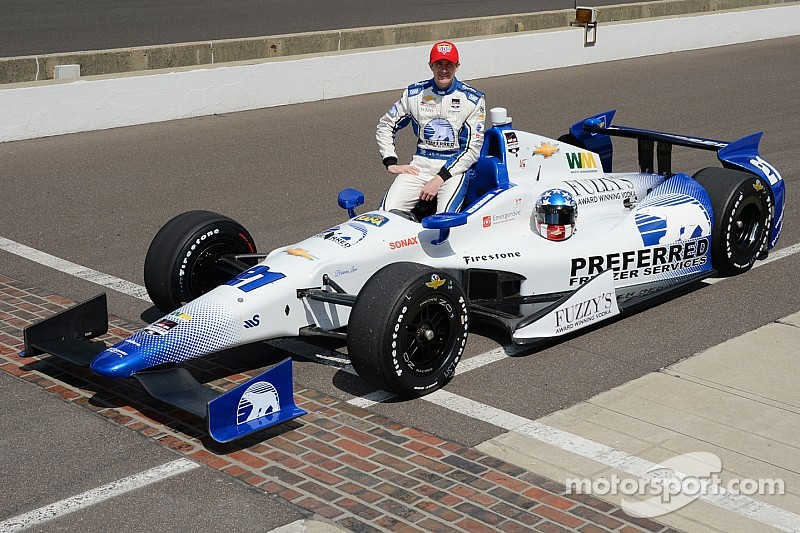 Hildebrand to contest Indy 500 with CFH Racing