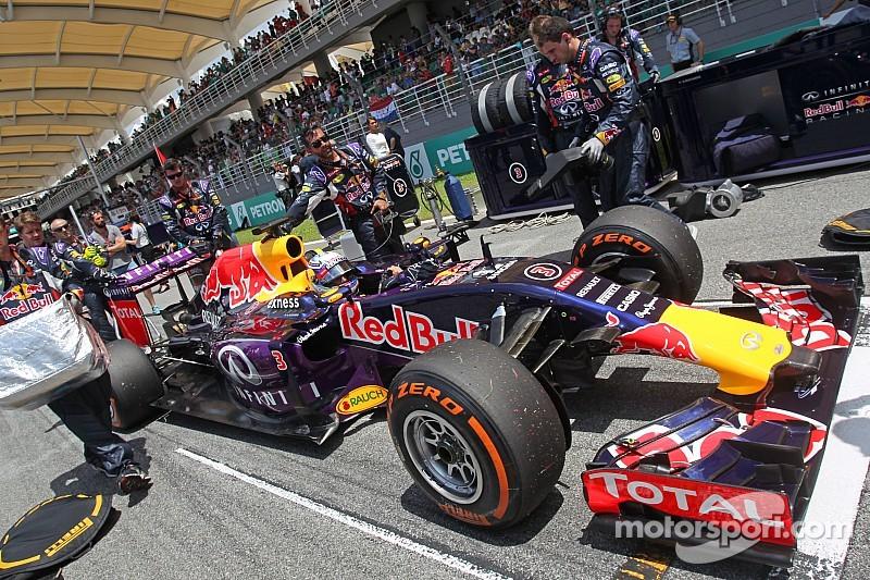 Red Bull cambia al proveedor de frenos para China