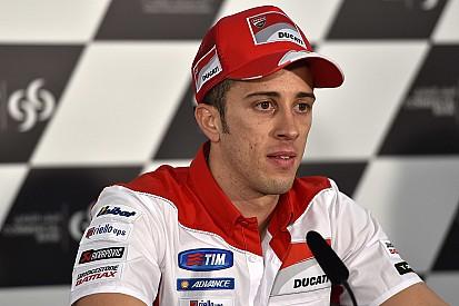 MotoGP - EL1 : Andrea Dovizioso en tête sous la pluie
