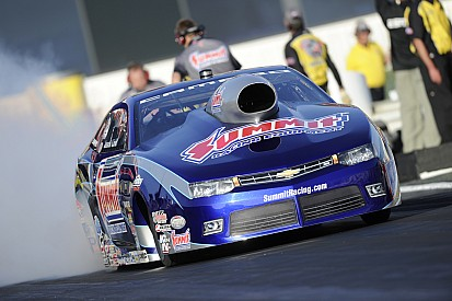Hagan, Line and Todd lead NHRA Las Vegas qualifying