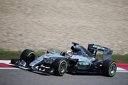 Hamilton on pole as Mercedes dominates
