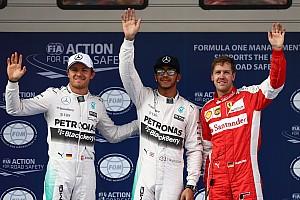 F1 Reporte de calificación Sin problemas, Hamilton con la pole
