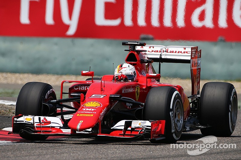 Vettel will start the Chinese GP from the second row in his Ferrari
