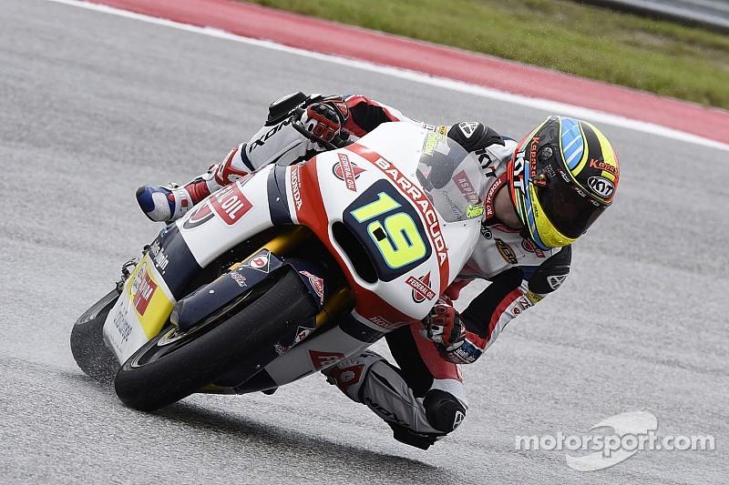 Xavier Simeon se lleva la pole en Moto2