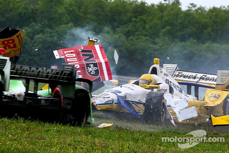 Sound-off: Drivers involved give their take on race-ending crash