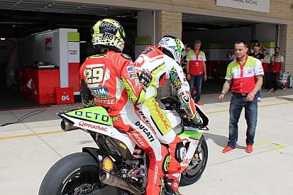"""Ducati en panne d'essence? """"Tout est sous contrôle!"""""""