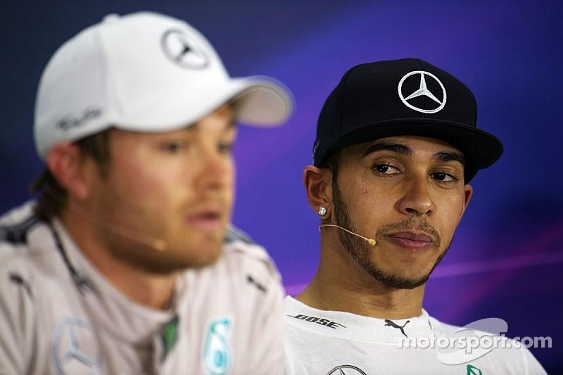 Rosberg no quiere ni hablar con Hamilton