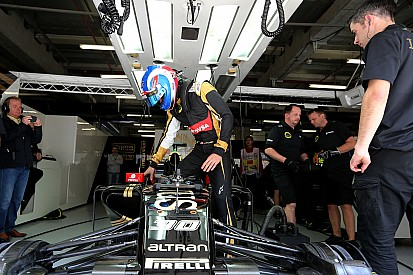 Palmer veut mettre Grosjean et Maldonado sous pression