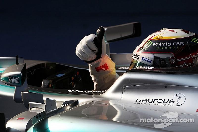 """Mercedes es un """"equipo unido"""": Lewis Hamilton"""