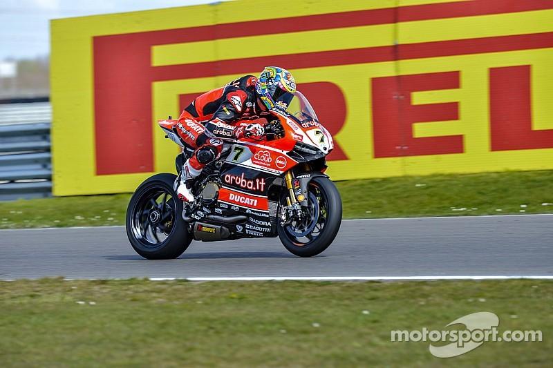 Chaz Davies profite d'un bon set-up de base sur sa Ducati