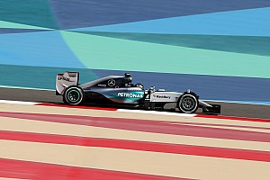 Formula 1 Practice report Opening day in Sakhir sees Mercedes top the times