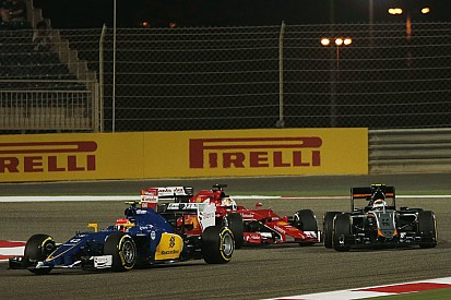 Vettel escapes unsafe release grid penalty