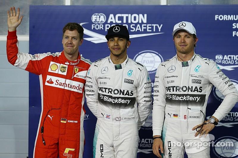 Hamilton beats Vettel to Bahrain GP pole