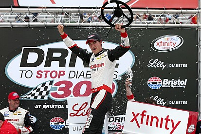 Logano dominates at Bristol