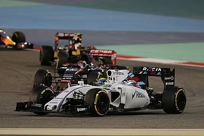 Felipe Massa descendió al quinto