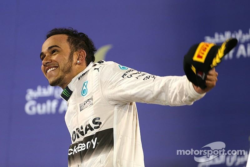 """Hamilton se satisfait d'un Grand Prix """"sous contrôle"""""""
