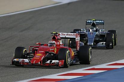 Bahrain GP: The first podium for Raikkonen since he returned to Ferrari