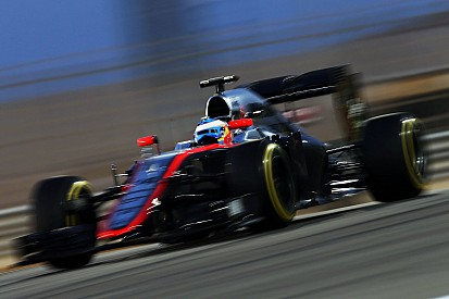 McLaren-Honda almost scored its first point of the season in Bahrain