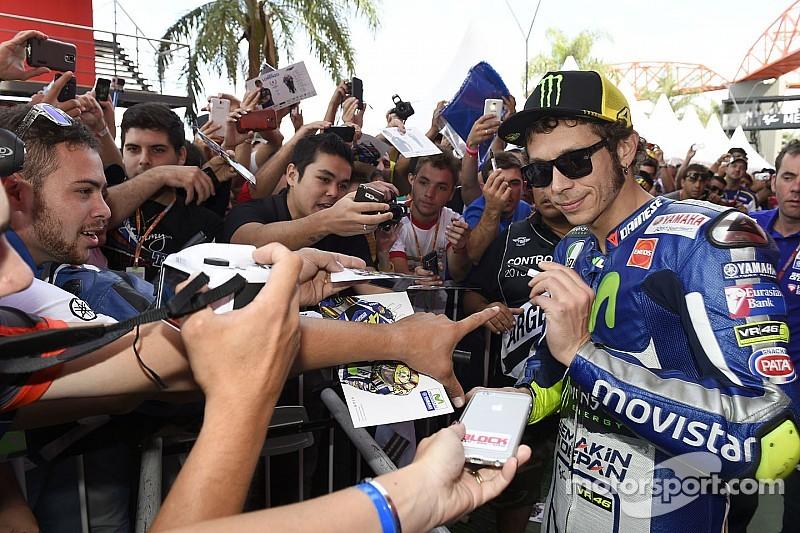 Rossi, leyenda más allá de la pista