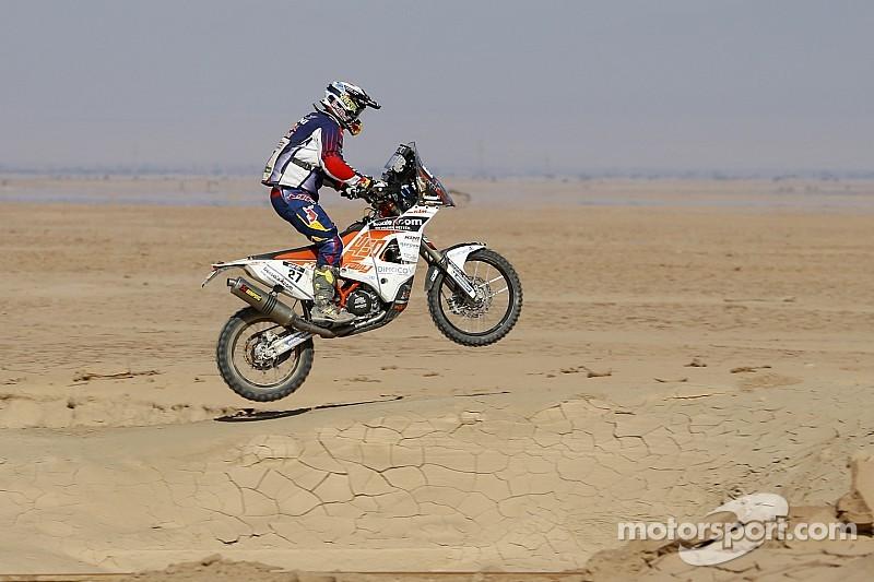 Victoria de Walkner en el segundo día en Qatar