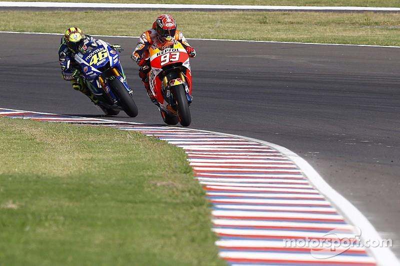 """Márquez dice que pelear con Rossi fue """"un privilegio"""""""