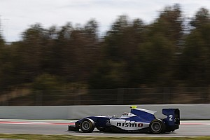 GP3 Testing report Mardenborough tops first day of Barcelona GP3 test