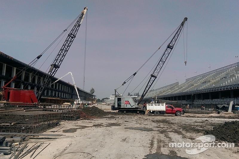 Tres fases de pavimentación al Autódromo Hermanos Rodríguez
