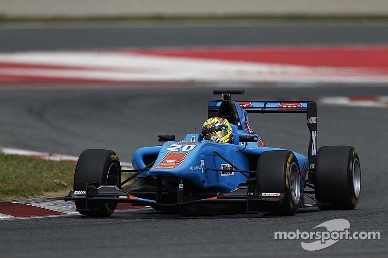 Varhaug ends Barcelona GP3 test on top