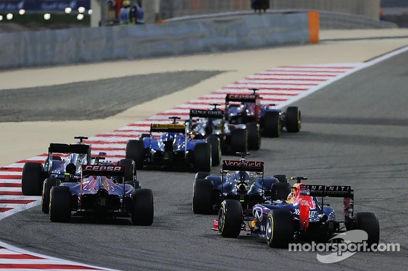 Red Bull en faveur d'une F1 à deux moteurs