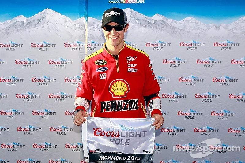 Logano, con la pole position en Richmond