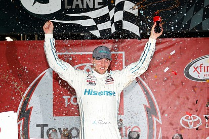 What a difference a week makes for Denny Hamlin