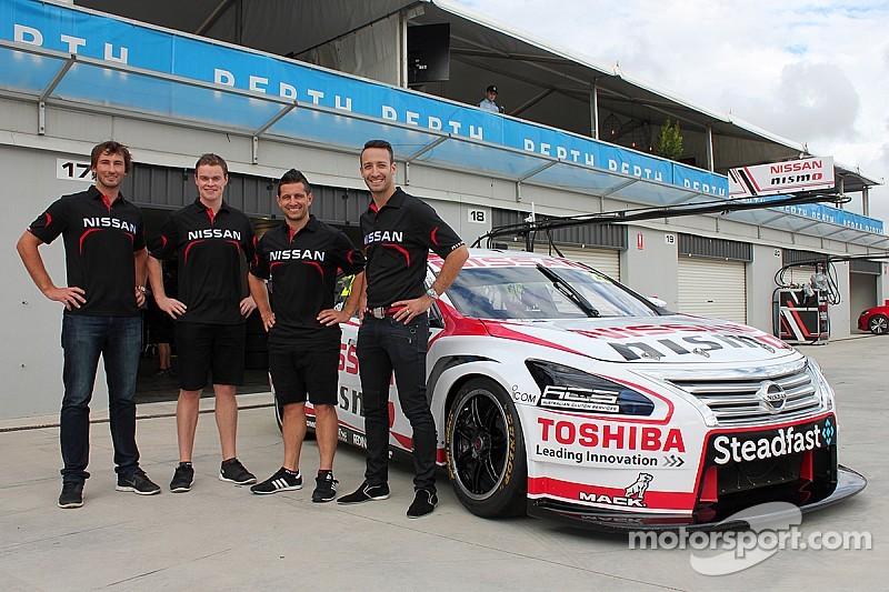 Nissan confirms Fiore and Douglas for V8 enduros