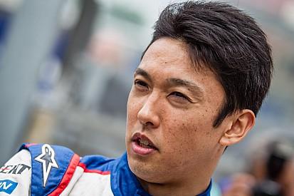 Nakajima sale ileso de un fuerte accidente en Spa