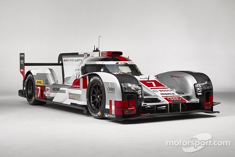 Audi R18 e-tron quattro with new aerodynamics