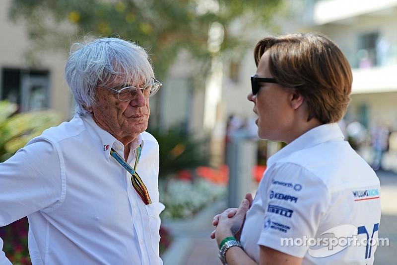 "F1 debe evaluar ""cada idea"" - Williams"