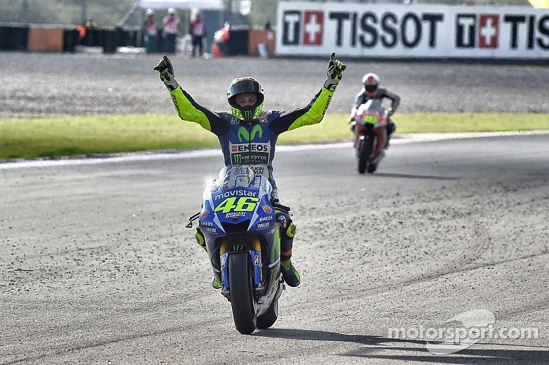 """""""Una estrategia diferente"""": Valentino Rossi"""