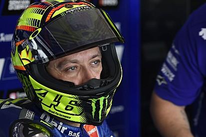 Dur, dur ce premier jour pour Valentino Rossi