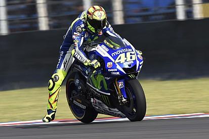 "Rossi se queja de una ""moto inestable"" en Jerez"