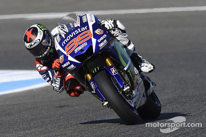 Lorenzo sigue adelante en Jerez