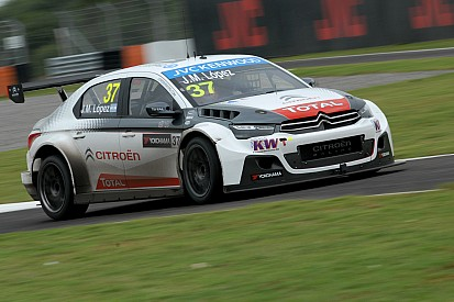 Lopez stays on top in second practice at Hungary
