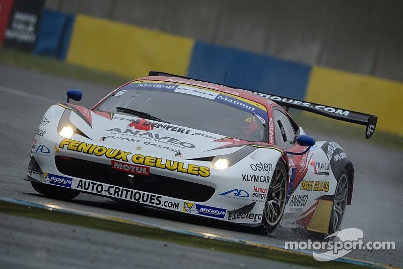 Les Ferrari de Sport Garage signent le doublé sous la pluie