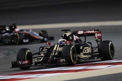 """Grosjean - """"Nous devons faire plus à chaque course"""""""