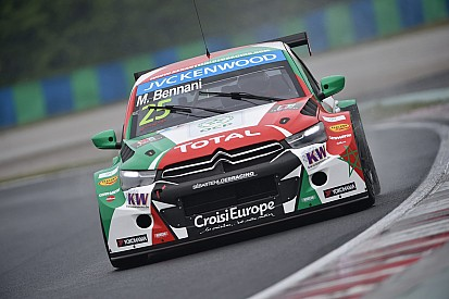 A frustrating weekend for Mehdi Bennani and the Sébatien Loeb Racing in Hungary